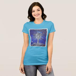 Camiseta Árvore da galáxia do espaço do t-shirt dos