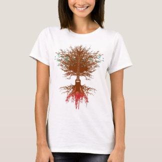 Camiseta árvore da guitarra