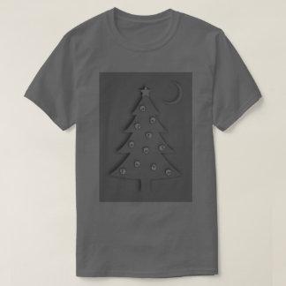 Camiseta Árvore da sombra do Natal