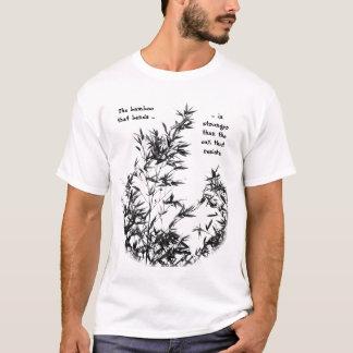 Camiseta Árvore de bambu que balança na brisa