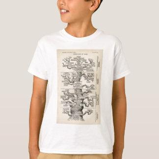 """Camiseta Árvore de Ernst Haeckel a """"de vida """""""