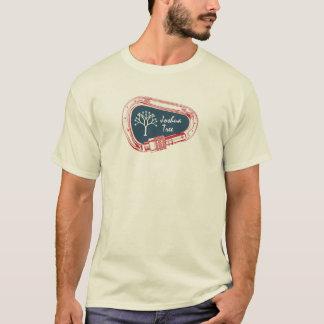 Camiseta Árvore de Joshua que escala Carabiner