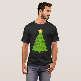 Camiseta árvore de Natal