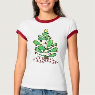 Camiseta Árvore de Natal pequena lunática