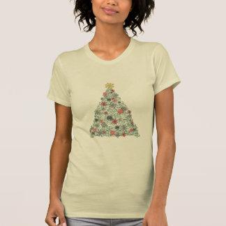 Camiseta Árvore de Swirly decorada