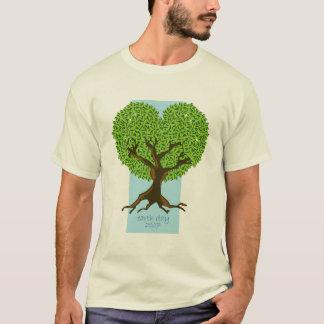 Camiseta Árvore do Dia da Terra
