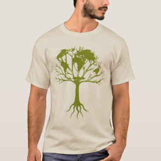 Camiseta Árvore do mundo