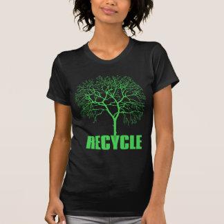 Camiseta Árvore do reciclar