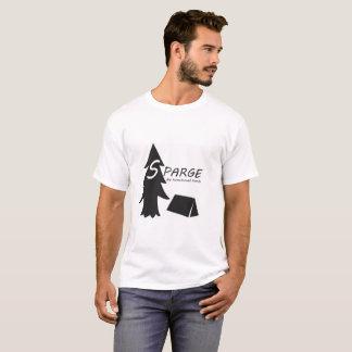 Camiseta Árvore e barraca Sparge.