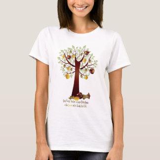 Camiseta Árvore genealógica podre engraçada de Apple