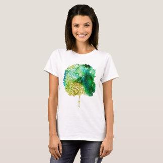 Camiseta Árvore manchado de tinta
