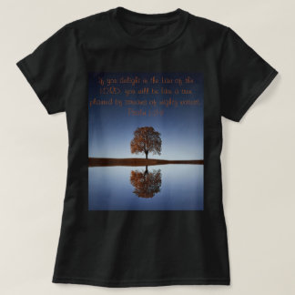 Camiseta Árvore pela camisola poderosa das águas