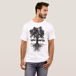 Camiseta Árvore profundamente enraizada