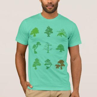 Camiseta Árvores dos bonsais