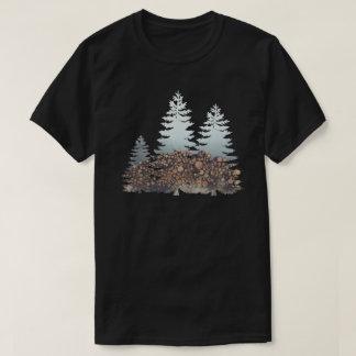 Camiseta Árvores e madeira