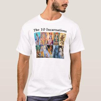 Camiseta As 10 encarnações