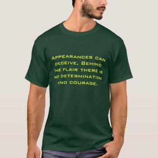 Camiseta As aparências podem iludir-se. Atrás do dom lá…