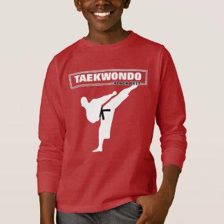 Camiseta As artes marciais do cinturão negro de Taekwondo
