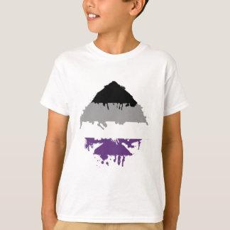 Camiseta Ás assexuado de Paintdrip