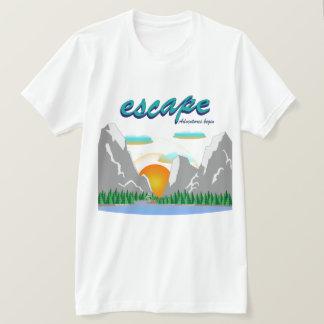 Camiseta As aventuras começam