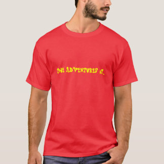 Camiseta As aventuras de…