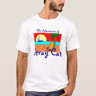 Camiseta As aventuras do gato disperso
