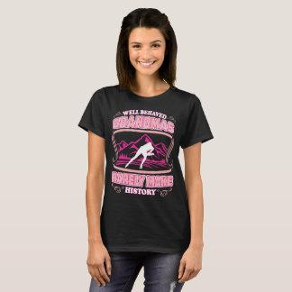 Camiseta As avós bem comportadas raras fazem o skate de