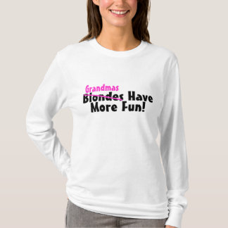 Camiseta As avós têm mais divertimento