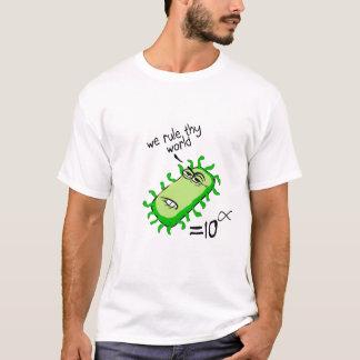 Camiseta As bactérias ordenam Thy mundo