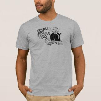 Camiseta As baleias Gnarly das lutas | do miúdo são pessoas