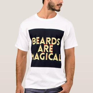 Camiseta As barbas são tshirt mágico