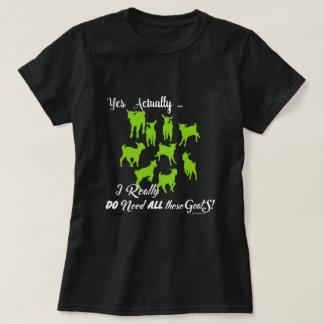 Camiseta AS CABRAS ENGRAÇADAS | PRECISAM todas estas cabras