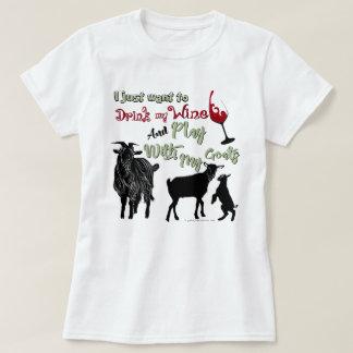 Camiseta As CABRAS | querem beber o vinho & o jogo com