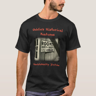 Camiseta As características históricas de Oddie - 'as salas