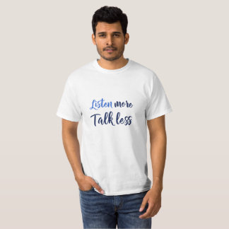 Camiseta As citações inspiradas para viver escutam mais