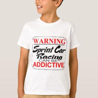 Camiseta As corridas de carros de Sprint podem ser aditivas