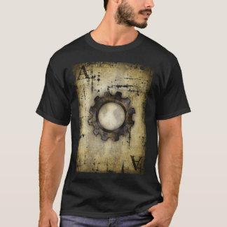 Camiseta ás da roda denteada