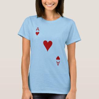 Camiseta Ás de corações
