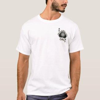 Camiseta Ás de espada (parte dianteira e parte traseira)