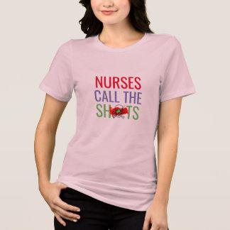 Camiseta as enfermeiras chamam o doutor dos tiros chalaça
