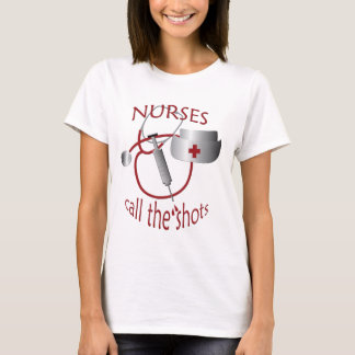 Camiseta As enfermeiras chamam o t-shirt da enfermeira dos