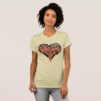 Camiseta As enfermeiras fazem o mundo ir em volta do