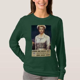 Camiseta As enfermeiras são necessários agora!