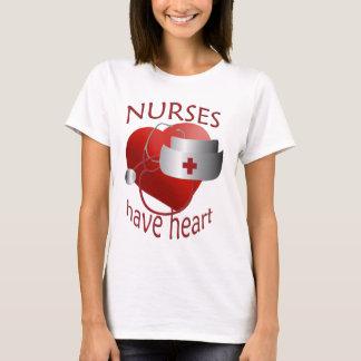 Camiseta As enfermeiras têm o t-shirt da enfermeira do