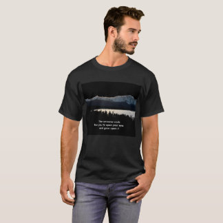 Camiseta As esperas do universo