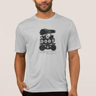 Camiseta As estradas de ferro moveram 90% de todo o frete