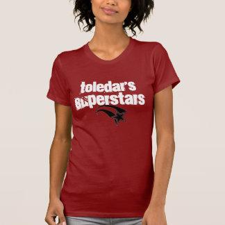 Camiseta As estrelas mundiais 2 de Toledar