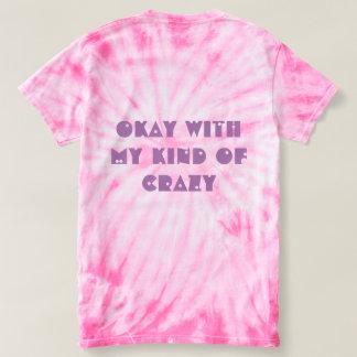 Camiseta As expressões engraçadas Tee- meu tipo de louco