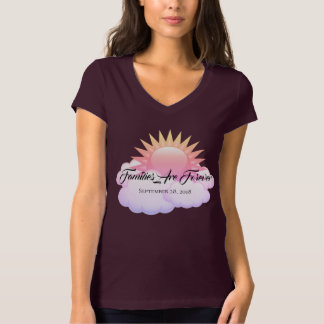 Camiseta As famílias do t-shirt das mulheres são Forever