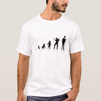 Camiseta As fases de homem de negócio